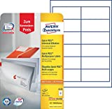 Avery Zweckform 6123 Adressetiketten 10 Blatt weiß