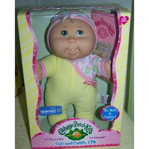 Amazon.com: Cabbage Patch Kids Cute and Cuddly Doll *Isabel Lucretia