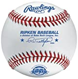Rawlings RCALGP-AS Cal Ripken League Full Grain Leather Baseball (Sold in Dozens) (For Local League Play Only)