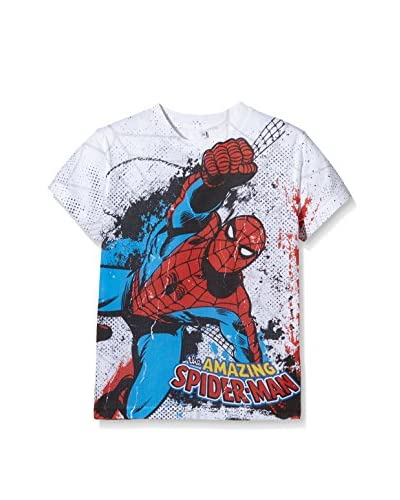 MARVEL Camiseta Manga Corta Spiderman Combat