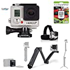 GoPro HERO3+ SILVER 10MP Full HD 1080p 60fps Built-In Wi-Fi Waterproof Wearable Camera Adventure 32GB Edition (Extreme)