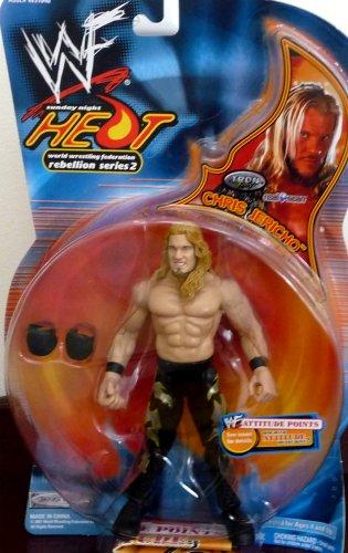 Buy Low Price Jakks Pacific CHRIS JERICHO WWE WWF Sunday Night Heat Rebellion Series 2 Figure (B004XIHMGU)