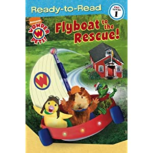 Flyboat to the Rescue! (Ready-To-Read Wonder Pets - Level 1) Melinda Richards, Michael Zodorozny and Little Airplane Productions