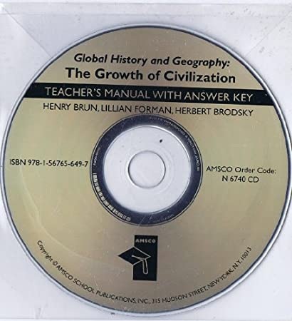 Global History and Geography: The Growth of Civilization AK