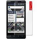 5 Pack of Premium Crystal Clear Screen Protectors for Motorola Droid X2 with Microfiber Cleaning Cloth