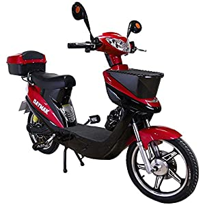 Daymak Vienna Rocket 500W 72V Electric Scooter Bike Bicycle Ebike Moped Red by Daymak