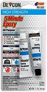 ITW Devcon S205 5-Minute Epoxy Glue 1-Ounce Tube at Sears.com