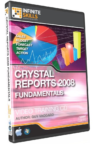 Crystal Reports 2008 Training CD - Video