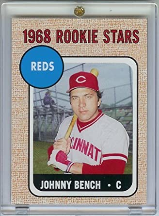 2006 Topps Johnny Bench Rookie Of The Week Baseball Card Mint Condition Shipped In
