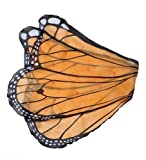 Fanciful Butterfly Wings, in Orange