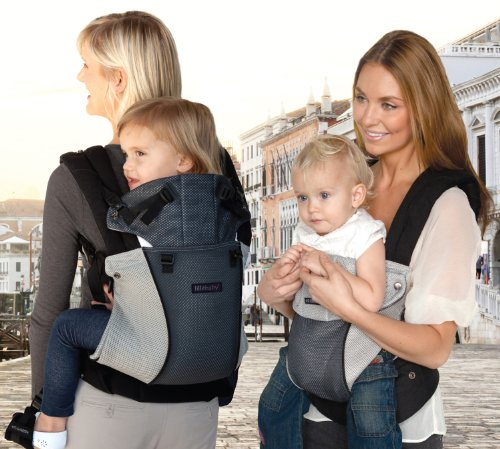 líllébaby COMPLETE Baby Carrier Airflow - Charcoal/Grey