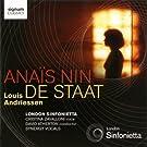 Andriessen: Anais N�n/De Staat