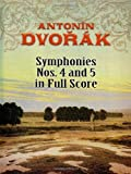 Symphonies Nos. 4 and 5 in Full Score (Dover Music Scores)