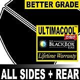 Honda Accord 4DR Sedan 09 2009 Precut Window Tint - 99% UV + 50X Stronger Black Box UltimaCool DUO - F5R5