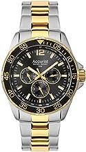 Comprar Accurist MB1041B - Reloj de pulsera para hombres, correa de acero inoxidable, bicolor