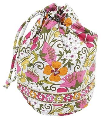 Vera Bradley Ditty Bag In Tea Garden Shoes