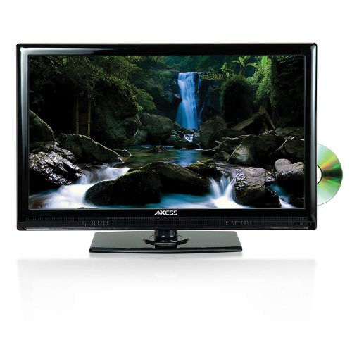 Big Save! Axess 22-Inch 1080p Digital LED Full HDTV, Includes AC/DC TV, DVD Player, HDMI/SD/USB Inpu...