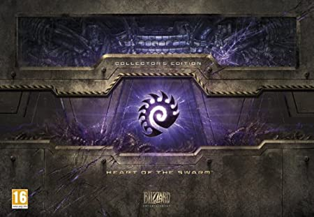 Starcraft II: Heart of the Swarm Collectors Edition (PC/Mac DVD)