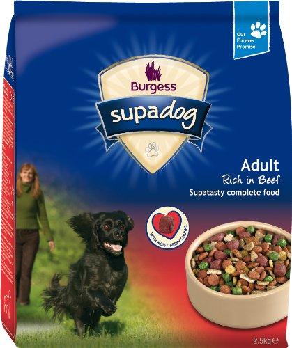 Supadog Adult Complete Dry Dog Food Beef 2.5 kg (Pack of 2)