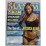 Maxim, Jessica Alba, November 2003 book cover