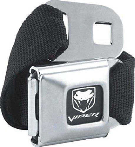 hot-hebillas-oficial-dodge-viper-cinturon-hebilla-de-cinturon-y-combo-lienzo-negro-talla-unica