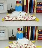 小さい子猫  超 リアル かわいい 座布団 ねこ 猫【マイホット】 (白猫)
