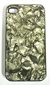 4s Case, Mother of Pearl, Apple iPhone 4 Case, 4s Luxury Shine Hard Protective Cover Carrying Case
