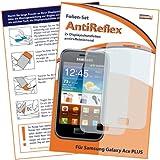 2 x mumbi Displayschutzfolie Samsung Galaxy Ace PLUS S7500 Schutzfolie AntiReflex antireflektierend