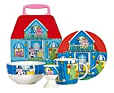 Ethos Kid's Breakfast Set in Lunchbox, 4 Piece, Blue
