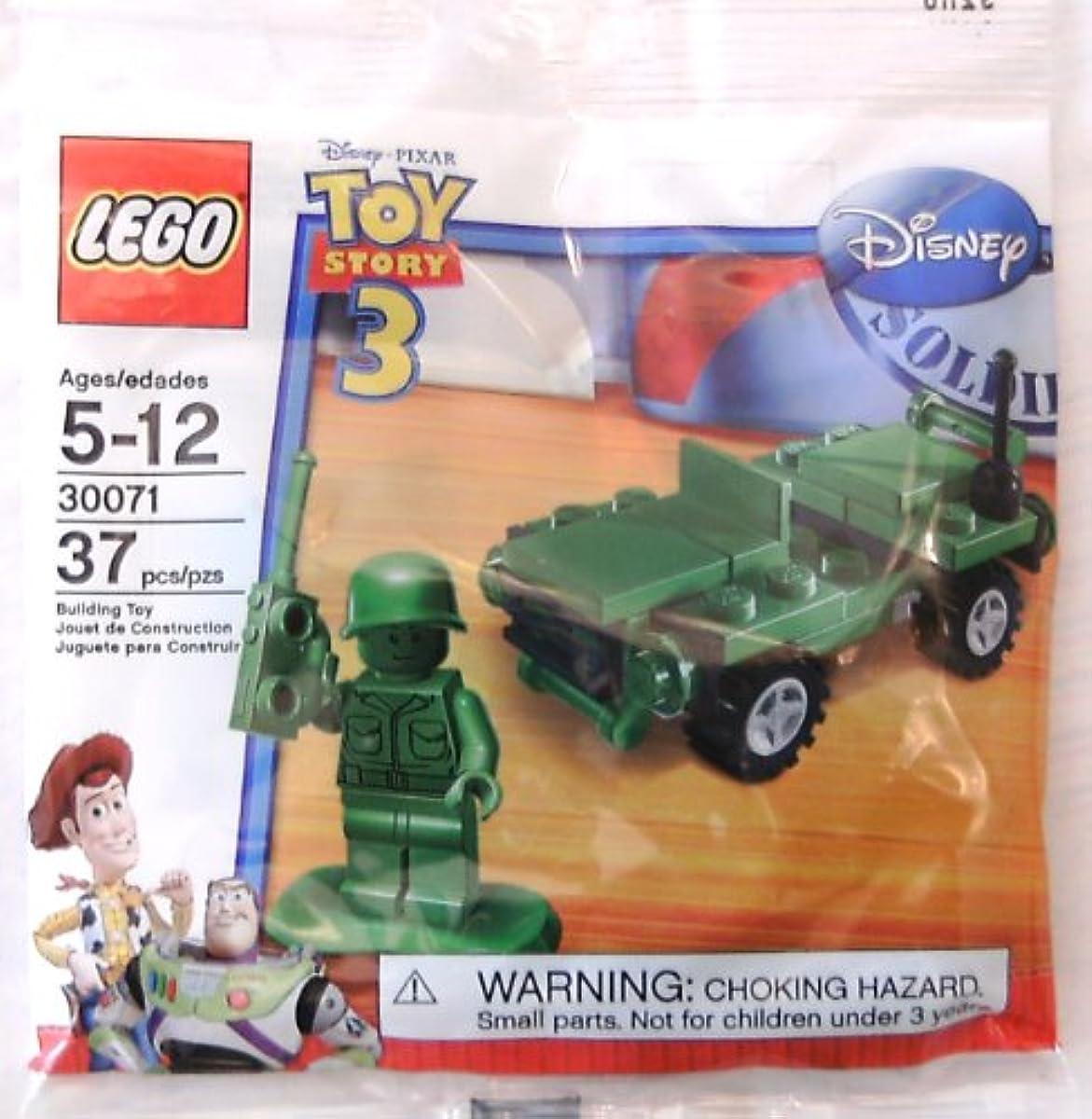 [해외] LEGO 레고/ 토이 스토리3 그린 군대 멘 녹색의 군대 중사 와 jeep부! 30071-30071