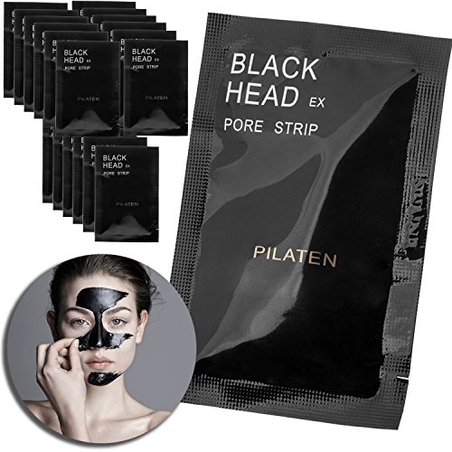 Beauty Kit Skin Care Set With 24pcs Lot Blackheads Removers Masks, Acne Pimples Removing, Face Pores Deep Cleansing Purifying, Facial Black Peel Off Peeling Exfoliating Exfoliation Masks (Hyper Allergenic Soap compare prices)