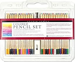 Peter Pauper Press: Studio Series Colored Pencil Set