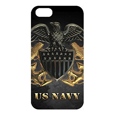 U.S.Navy Logo IPhone 4/4s Case Cover,Luxury Golden Logo U.S.Navy Seals Logo Phone Case 3D Hard PC Cover Shell for IPhone 4/4s (Iphone 4 Navy Seals Case compare prices)