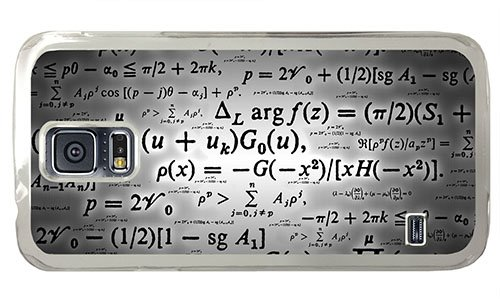 Hipster Samsung S5 Sale Cover Calculation Formulae Pc Transparent For Samsung S5 front-817575