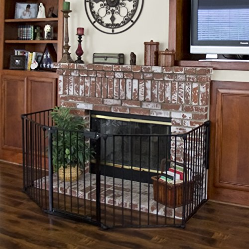 Best Choice Products Baby Safety Fence Hearth Gate BBQ Fire Gate Fireplace Metal Plastic (Hearth Gate Fireplace Gate compare prices)