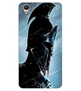 ColourCraft The Warrior Design Back Case Cover for OPPO R9