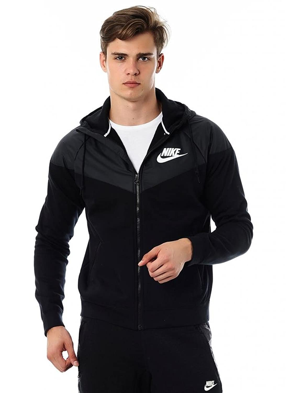 NIKE WINDRUNNER-FLEECE MIX 614516-010 free shipping 30397 sop in stock 10pcs lot