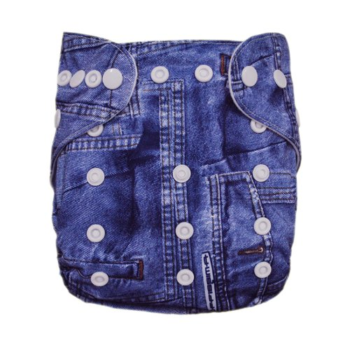 Besto Baby One Size Fit All Pocket Cloth Diaper Cover Reusable Washable Fit 6-33 Lbs 0J01 back-713996