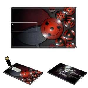 Naruto Sasuke Uchiha Anime Comic Games ACG USB Flash Drive Customized 16GB USB
