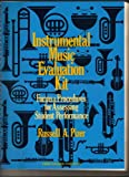 img - for Instrumental Music Evaluation Kit: Forms and Procedures for Assessing Student Performance book / textbook / text book