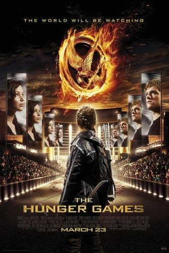 The Hunger Games - Movie Poster / Print (Regular Style / Katniss In Stadium) (Size: 27