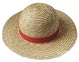 麦わら帽子(ワンピースONE PIECE ルフィ コスプレ衣装用)