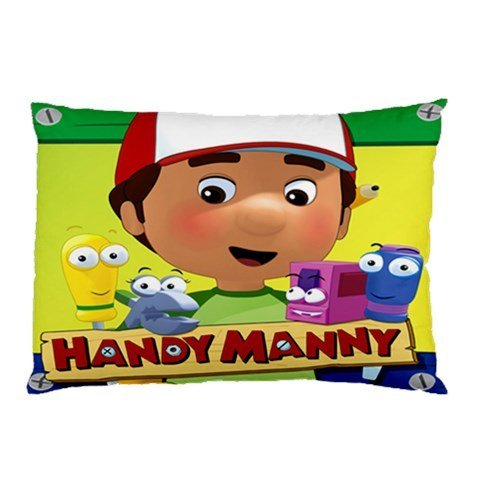 Butuku Handy Manny Pillow Case Two Side Cover Rectangle Pillowcases Code B front-807088