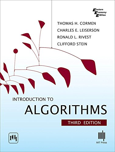 Introduction to Algorithms 3 Edition price comparison at Flipkart, Amazon, Crossword, Uread, Bookadda, Landmark, Homeshop18