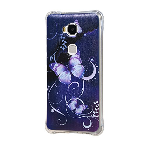 Dooki honor 5x gr5 coque mince souple caoutchouc gel for Housse honor 5x