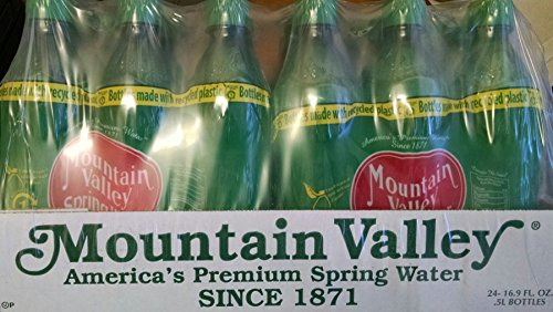Mountain Valley Spring Water .5 Liter 4/6 Pack PET Bottle (24 Count) (Mountain Valley Spring Water compare prices)