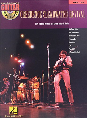 Guitar Play Along: v. 63: Creedence Clearwater Revival (Hal Leonard Guitar Play-Along)