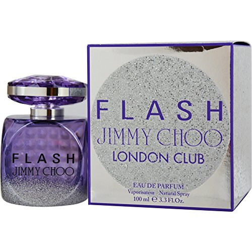 Jimmy Choo Flash London Club Eau de Parfum Spray for Women, 3.3 Ounce
