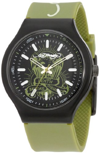 Ed Hardy Men's NE-GR Neo Green Watch