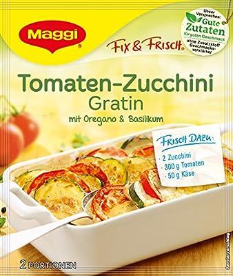 Maggi fix und frisch für Tomaten Zucchini Gratin , 33er Pack (33 x 40 g) von Maggi - Gewürze Shop